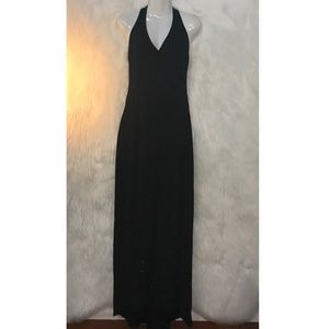 A FORTIORI Black Womens Sparkly Dress Size Small